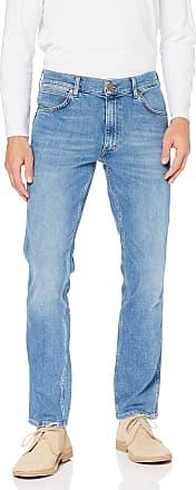 Wrangler Mens Greensboro Jeans Straight, Blue (Mid Summer Blue Z), 31W / 32L