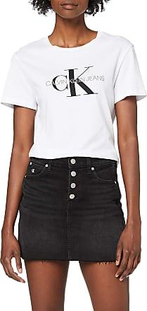 Calvin Klein Jeans Womens MID Rise Mini Skirt, Black (DA095 Black Shank RWH 1BY), One (Size:NI25)