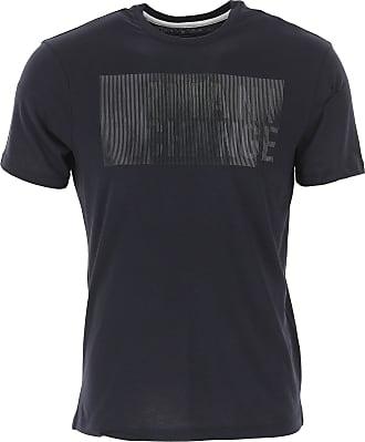A|X Armani Exchange T-Shirts für Herren, TShirts Günstig im Outlet Sale, Marineblau, Baumwolle, 2019, L M S XL XXL