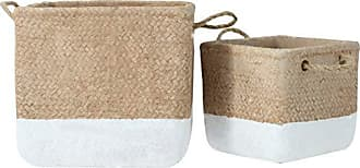 Urban Trends Collection s 59816 Basket, White