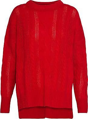 N.Peal N.peal Woman Cable-knit Cashmere Sweater Red Size XS