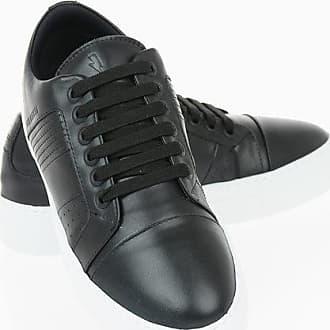 Neil Barrett Leather MODERNIST CITY TRAINER Sneakers size 42