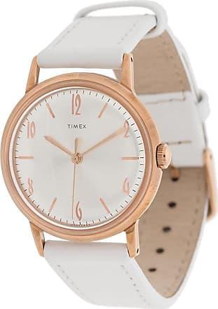 Timex Relógio Marlin Hand-Wound 34mm - Branco