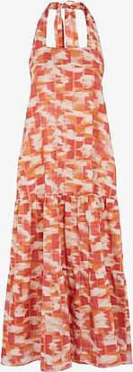 Three Graces London Ofelia Dress in Abstract Ikat