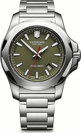 Victorinox by Swiss Army Swiss Army I.N.O.X. 241725.1 Silver/Green Quartz Mens Watch