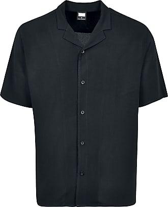 Urban Classics Viscose Resort Shirt - Kurzarmhemd - schwarz