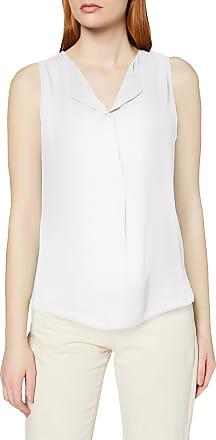 Vila Womens Vilucy S/l Top-Noos Vest, White (Snow White), 36 (Size: Small)