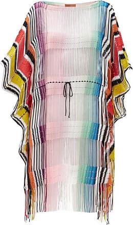 Missoni Drawstring-waist Striped Cover Up - Womens - Multi