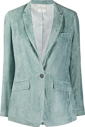 Forte_Forte corduroy single breasted blazer - Blue