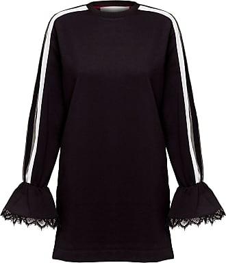 No Ka'Oi Kein Ka Oi Gallant Applique Detail Jerseykleid - S / Black