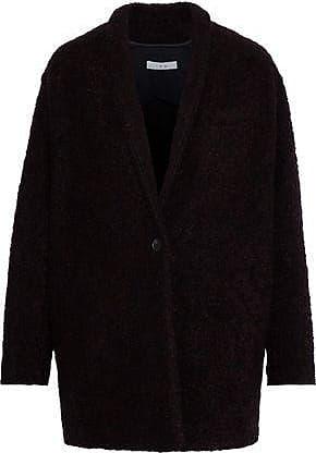 Iro Iro Woman Rafa Bouclé Coat Black Size 38
