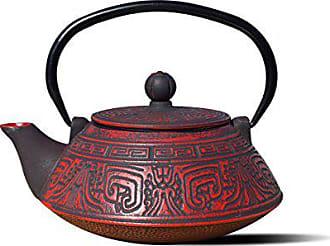 Old Dutch International 1076RD Red/Black Cast IronKodai Teapot, 28 Oz. KODAI-26 OZ, 26 oz