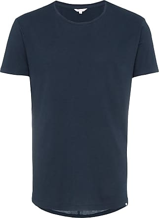 Orlebar Brown Tailored Fit Crew Neck T-Shirt - Blue