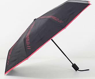 Karl Lagerfeld logo detail umbrella in pink