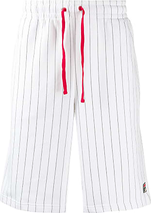 Fila striped track shorts - White