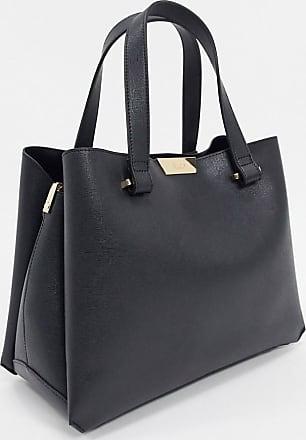 Dune London tiella unstructured tote bag-Black