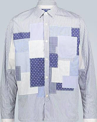 Junya Watanabe Regular-Fit Patchworkhemd