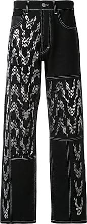 Koché Calça jeans pantalona - Preto