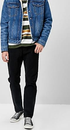 21 Men Levis 502 Regular Taper Jeans at Forever 21 Black