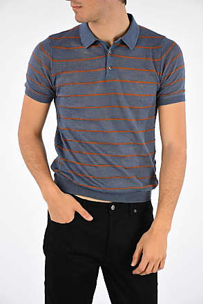 Roberto Collina Knitted Striped Polo size 48