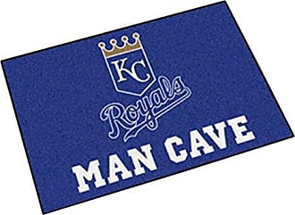 Fanmats 22415 MLB-Kansas City Royals Man Cave Starter Rug