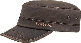Stetson Datto Winter Army Cap Men - hat Men´s with Peak, Lining, Closed Back, Lining Autumn-Winter - XL (60-61 cm) Brown