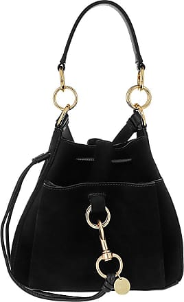 See By Chloé Bucket Bags - Tony Bucket Bag Medium Leather Black - black - Bucket Bags for ladies