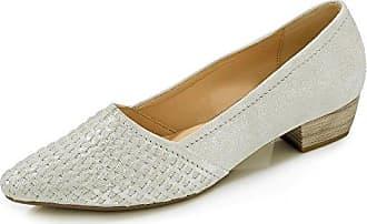 Gabor Damen Pumps 65.135.61 Weiß 233036: Schuhe & Handtaschen