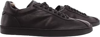 Officine Creative Mens Sneakers Karma/001 Giano Sole Leather Black