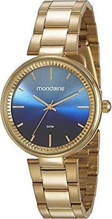 Mondaine Relogio Mondaine Feminino Ref: 53687lpmkde1 Fashion Dourado