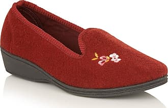 Lotus Womens ROSARIE Low-Top Slippers, Red (Wine), 4 UK 37 EU