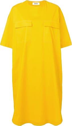 Zucca Chemise oversized - Amarelo