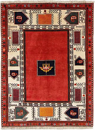 Nain Trading 166x121 Tappeto Orientale Persia Gabbeh Beige/Ruggine (Persia/Iran, Lana, Annodato a mano)