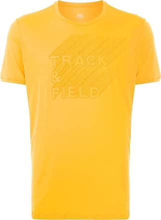 Track & Field T-shirt com logo estampado - Amarelo