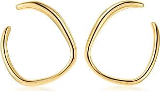 Monica Vinader Nura Reef Wrap earrings - GOLD