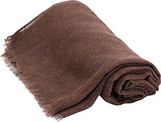 CJ Apparel Dark Brown Veil Shawl Seconds Solid Colour Design Voile Scarf Wrap Stole Throw Pashmina Pashminas CJ Apparel NEW