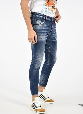Dsquared2 Distressed jeans SKATER 14 Cm size 46