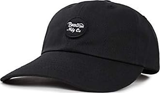 Brixton Mens Wheeler Low Profile Adjustable Hat, black, One Size