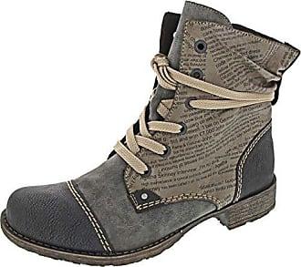 Rieker Damen Schnürstiefelette 785C4,Frauen Stiefel,Boots