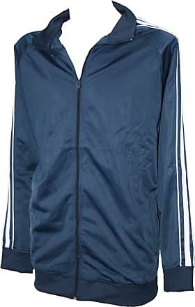 Espionage Zip-Up Sweatshirt Jacket Navy Blue XXX-Large