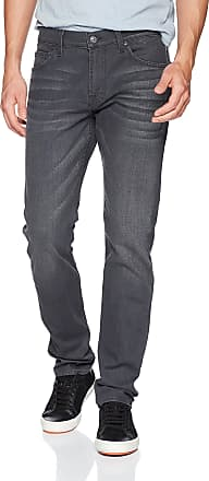 7 For All Mankind Mens The Paxtyn Slim Fit Jean, Portland Grey, 34