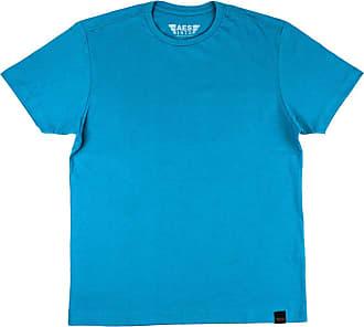 AES 1975 Camiseta Básica Azul - P