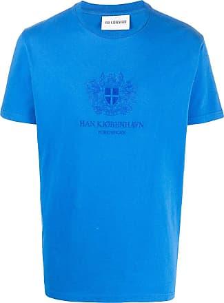Han Kjobenhavn Camiseta com logo - Azul