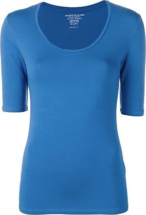 Majestic Filatures Camiseta slim - Azul