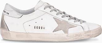 Golden Goose Sneaker Superstar bianca, grigia e argento