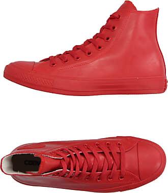 converse con cuore rosso scarpe