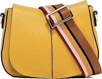 Gianni Chiarini helena round small yellow cross body bag
