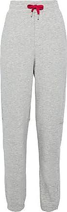 Zoe Karssen Zoe Karssen Woman Mélange Cotton-blend Terry Track Pants Gray Size XL