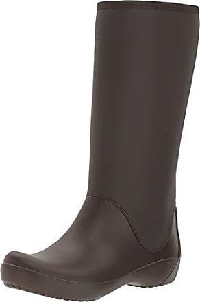 ee83206ee1879 2018 cheap crocs crocband ii5 cinch womens boots brown espresso ...