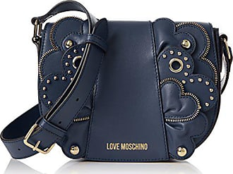 Love Moschino Borsa Vitello Smooth Blu - Borse Baguette Donna f4cb593c2c1